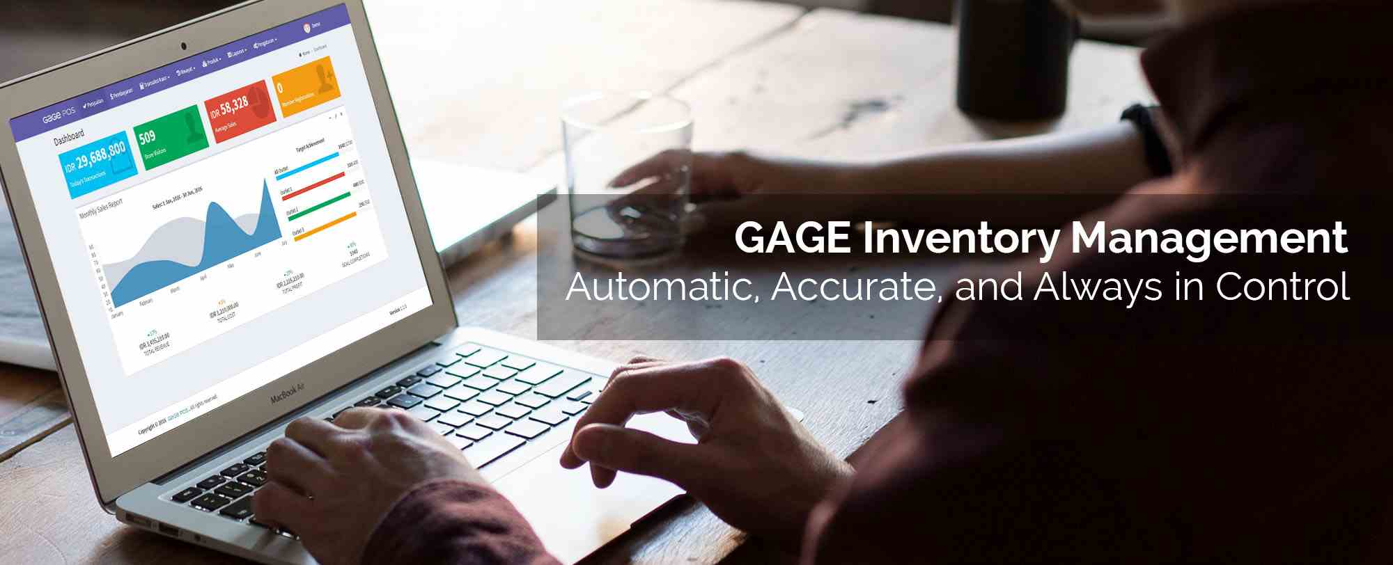 GAGE POS Inventory management - Automatic, Accurate, always in control
